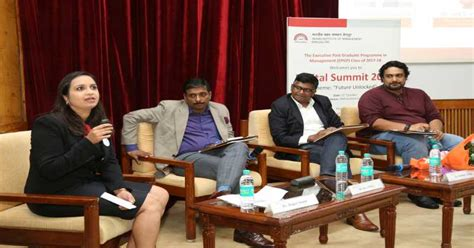 Iim Bangalore One Year Mba by Digital Summit 2017 Event Organized By Students Of The