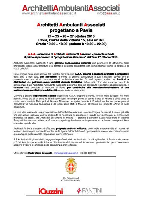 architetto pavia architetti ambulanti associati a a a a pavia dal 24 al