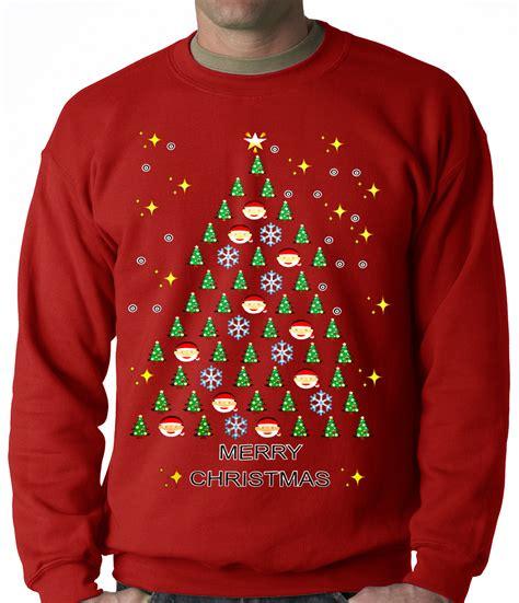 emoji xmas jumper ugly christmas sweater emoji christmas tree ugly