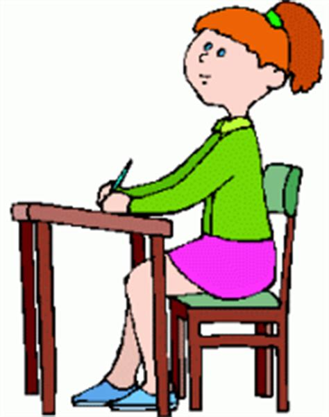 student sitting at desk clipart free school clipart free craft project clipart