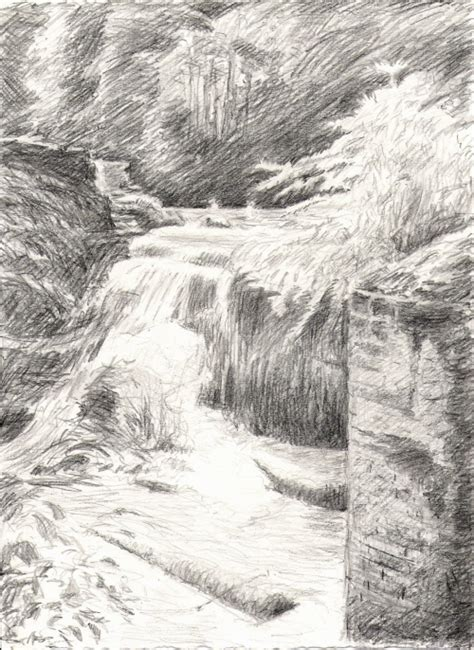 Landscape Drawing Reference landscape reference photos waterfall drawing photos