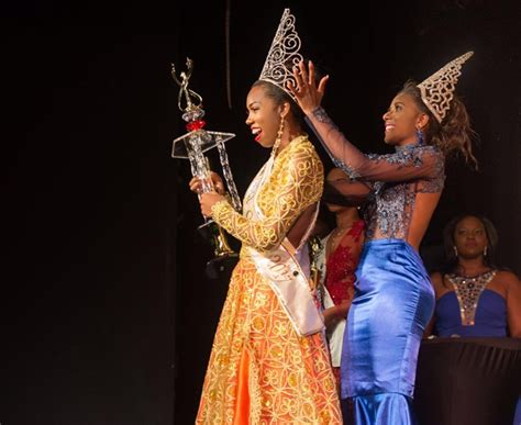press release    proud chancy fontenelle crowned carnival queen  st lucia