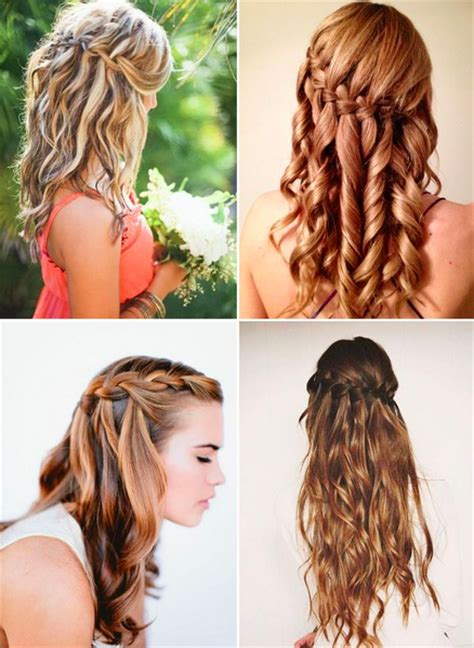 casual shaggy hairstyles done with curlingwands gorgeous braid styles you can do yourself fashion style mag