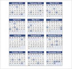 Docs Calendar Template 2014 by Doc 30152270 Perpetual Calendar Template Perpetual