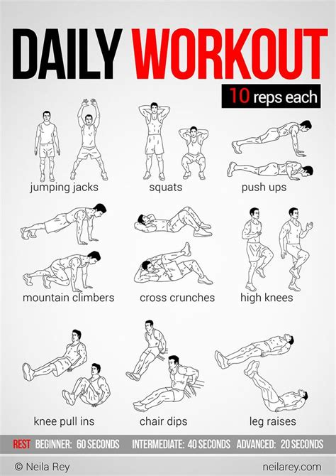 easy daily workout exercise easy daily