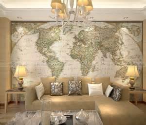 aliexpress com buy large world map wallpaper mural wall art designs living room wall art world map large