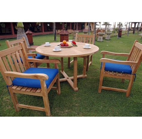 teak patio dining sets teak patio dining set