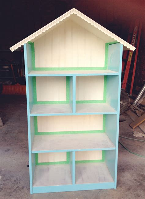 simple doll house diy dollhouse bookshelf
