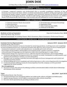 Best Customer Service Resumes by 32 Best Best Customer Service Resume Templates Sles Images On Resume Templates