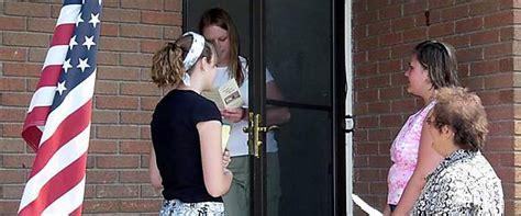door to door evangelism survey lookers mormon focus ministry team