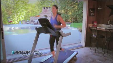 precor home fitness elliptical treadmill sale tv
