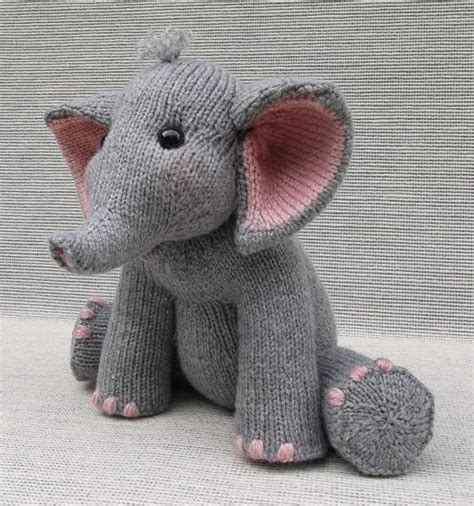 pattern elephant 12 cute knitted elephant patterns