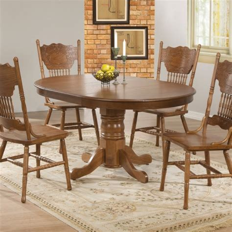 oak dining room set solid oak dining room set marceladick