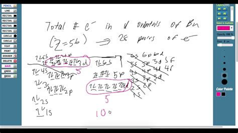 tutorial questions on electron configuration more electron configuration questions youtube