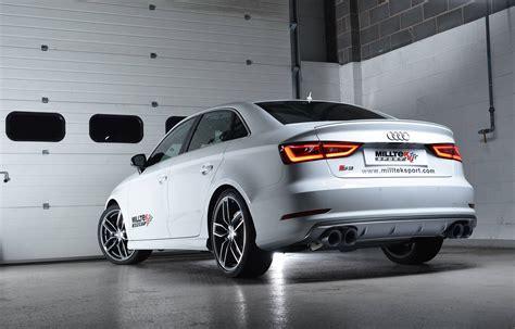 Audi S3 Sport by 201 Chappement Sport Pour Audi S3 Milltek Actualit 233 S