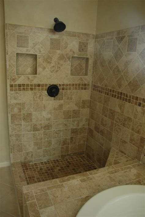 loose bathroom tile a few loose tiles turned to this tile design and showers