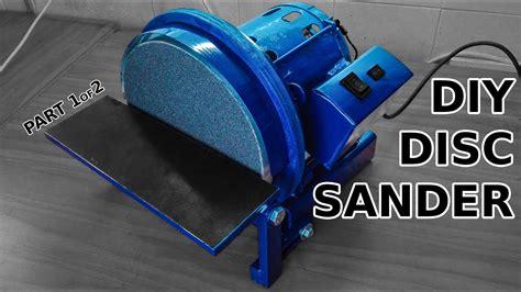 awesome diy disc sander part    casting