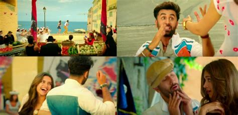 film india terbaru tamasha ranbir and deepika s matargashti is magical in this
