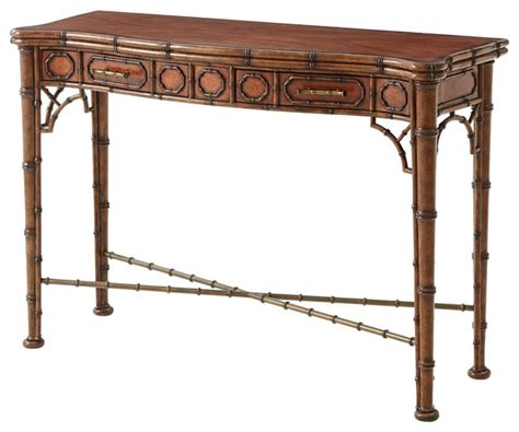 Japanese Console Table Bamboo Console Table Asian Console Tables By Georgian America