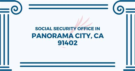 social security office in panorama city california 91402