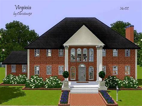 sims 3 6 bedroom house christina51 s virginia no cc