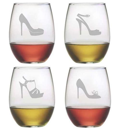high heels glasses high heels stemless wine glasses