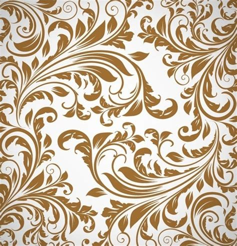 Floral Pattern Background Free Vector | abstract floral pattern background vector free vector in