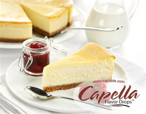 Capella 4 Oz New York Cheesecake V2 Flavor Bulk Size new york cheesecake capella flavour concentrate vapable