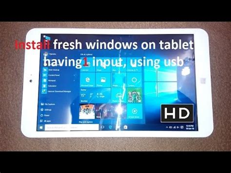 samsung tab boot menu how to install fresh new copy of windows in tablet with one slot in uefi boot menu option
