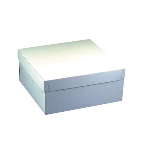 Box Makeup P P 30cm L 20cm T 24cm cake dozen met deksel pappe plein 30 cm x 30 cm x 10 cm