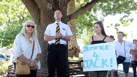 mark burnett ballarat two cities rally as one in support of jack aston after