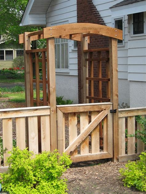 Wood Garden Arbor Gates 25 Gorgeous Arbor Gate Ideas On Garden Gates