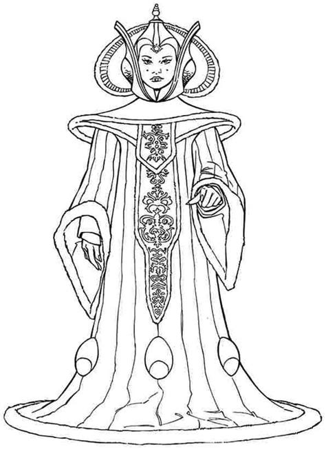 star wars queen amidala coloring page pinterest the world s catalog of ideas