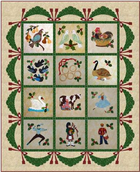 12 Days Of Quilt Pattern by Quilts Last But Not Least