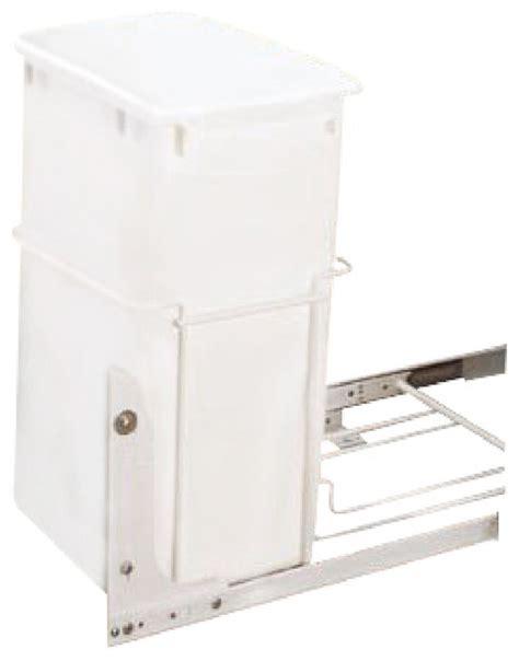 rev a shelf rv 18pb 1 single 35 qt pullout trash can