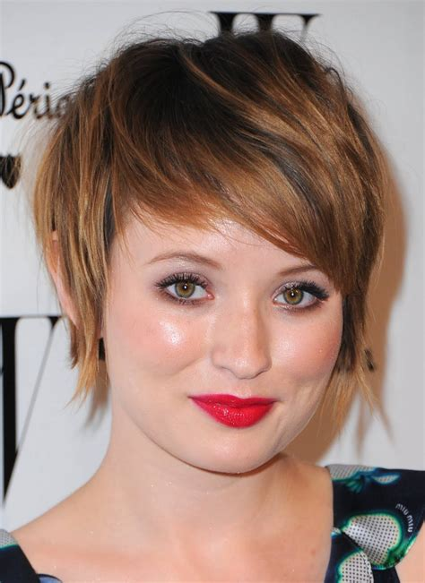 hairstyles for round faces short short hairstyles images for round faces