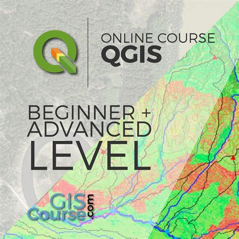 online tutorial qgis qgis course from beginner to advanced gis course tyc