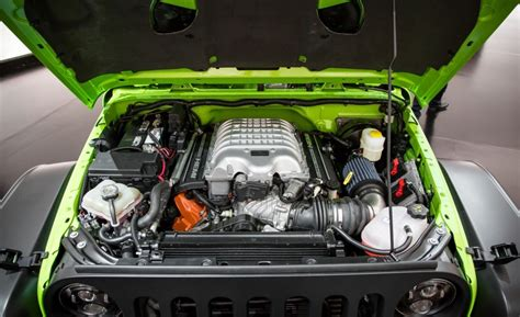 700 hp jeep hellcat meet the 707 hp hellcat powered jeep trailcat techspot