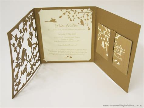 cut pro wedding templates classic wedding invitations garden forest trifold