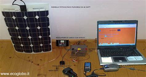 come alimentare un come alimentare il computer con un piccolo pannello solare