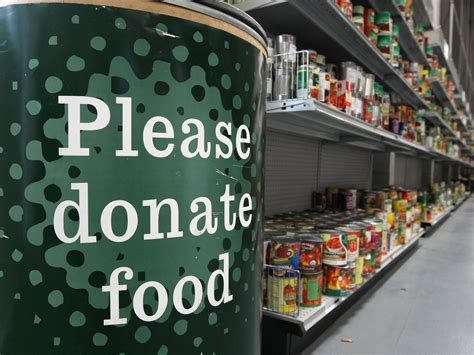 busy nottingham food bank to in protest at harsh