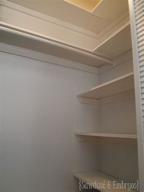 Closet Shelf Diy by Diy Closet Shelving House