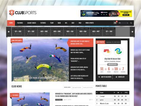 wordpress themes free sports team 40 sports wordpress themes 2018