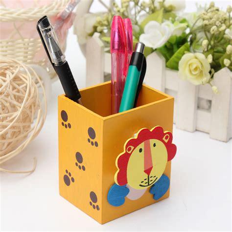 pencil holder for student desk kids student cute animal pen holder desktop desk pencil