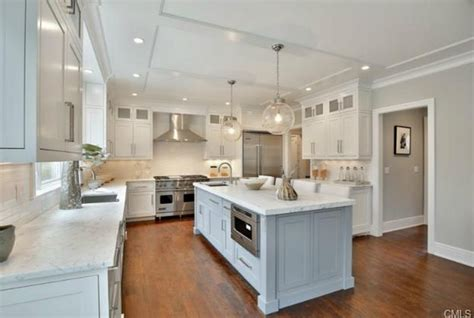 The Kitchen Westport Ct by Two 3 Million Newly Built Colonial Shingle Homes In