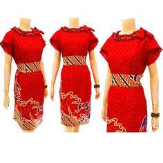 Kemeja Batik Prints Flowers Kode R2142 dress batik modern terbaru dbd03 baju batik wanita dress