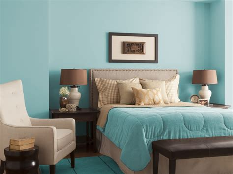 aqua blue bedroom glidden paint color palette glidden