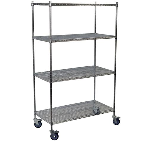 hdx wire shelving hdx 5 tier 41 7 in x 72 2 in x 18 in wire industrial use shelving unit eh wshdi 003 the
