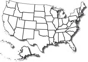 You can choose a blank map of the united states to print out