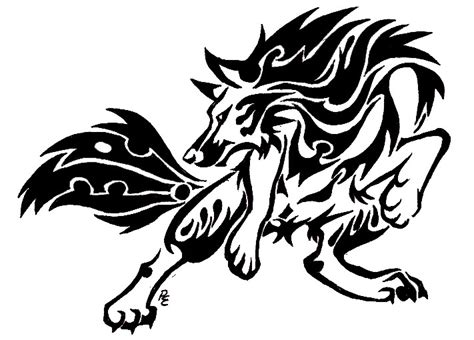 werewolf tribal tattoo lycan tribal pictures to pin on